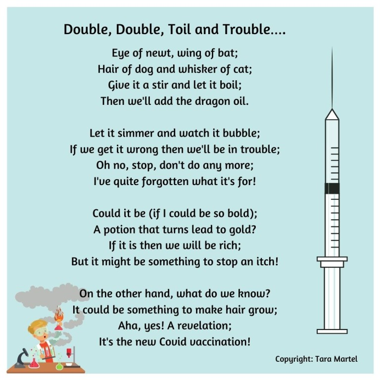 Tara Martel Double, Double Toil and Trouble….